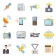 Mass Media Icons Set - GraphicRiver Item for Sale