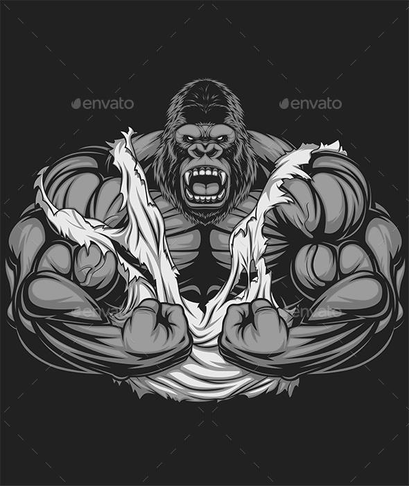 Gorilla Athlete - Sports/Activity Conceptual