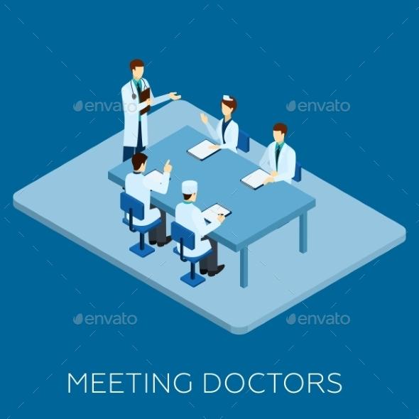 Doctor Meeting Concept - Health/Medicine Conceptual