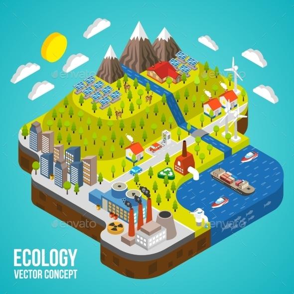 Eco City Concept - Nature Conceptual