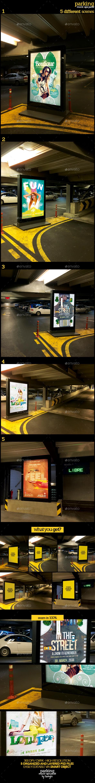 Parking Mock-Ups Pack - Product Mock-Ups Graphics