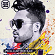 Electro House Artist Flyer v11 - GraphicRiver Item for Sale