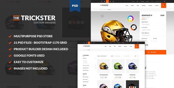The Trickster – Multipurpose PSD Product Builder