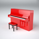 Upright piano - 3DOcean Item for Sale