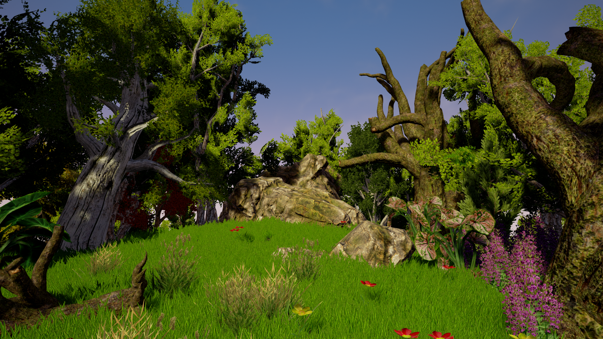 Realistic Forest Pack [ Unreal Engine ]