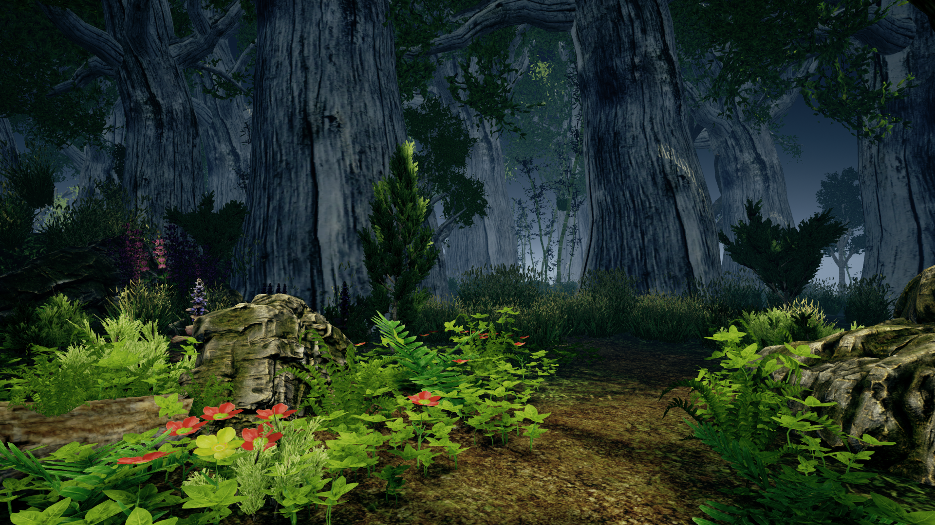 Realistic Forest Pack Unreal Engine By Rakshigames