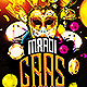 Mardi Gras Madness Flyer - GraphicRiver Item for Sale