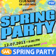 Spring Party Poster/Flyer - Many looks in one file - GraphicRiver Item for Sale