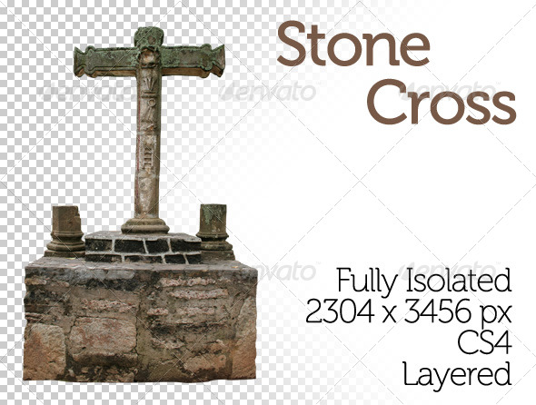 Stone Cross - Miscellaneous Isolated Objects