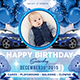 Blue Kids Birthday Invitation - GraphicRiver Item for Sale