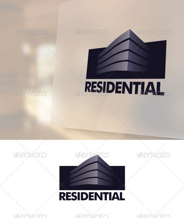Residential Logo Template - Buildings Logo Templates
