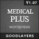 Medical Plus - Responsive Medical and Health Theme Nulled