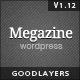 Megazine - Responsive WordPress Theme Nulled