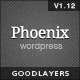 Phoenix - Clean Responsive Wordpress Theme Nulled