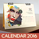 Desk Calendar 2016 - GraphicRiver Item for Sale