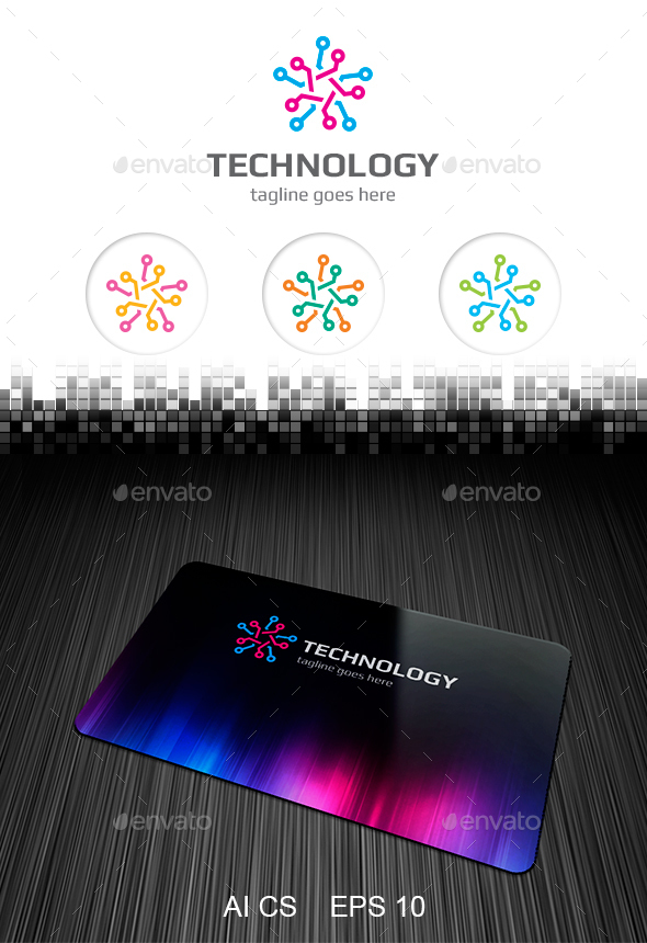 Technology Logo - Symbols Logo Templates