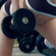 Sexy Girl Pumping Iron - VideoHive Item for Sale