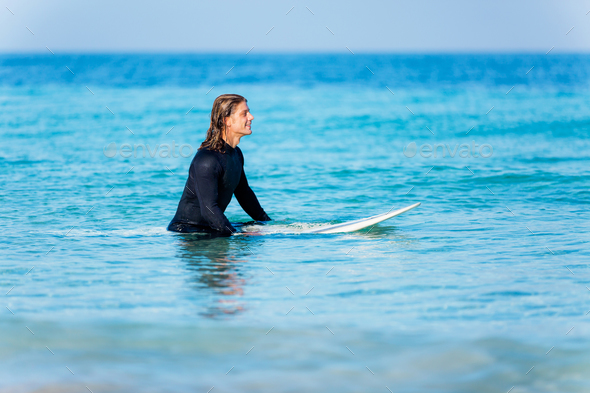 Ready to hit waves - Stock Photo - Images