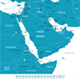 Middle East and Asia - Map and Navigation Labels. - GraphicRiver Item for Sale