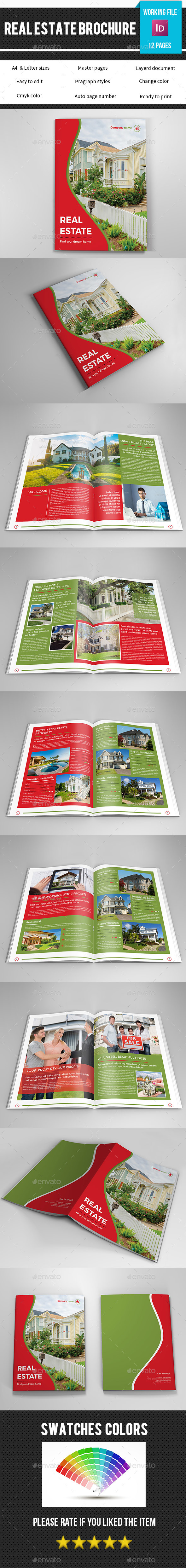 Real Estate Brochure Template-V328 - Corporate Brochures