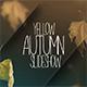 Memories Of Autumn Slideshow - VideoHive Item for Sale