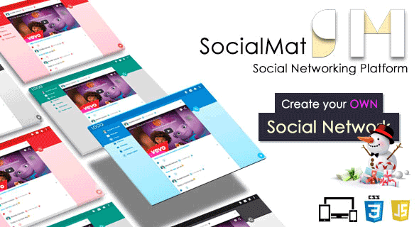 Social Networking Platform - SocialMat - CodeCanyon Item for Sale