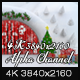 Snow Cave - Christmas Curtain Open - VideoHive Item for Sale