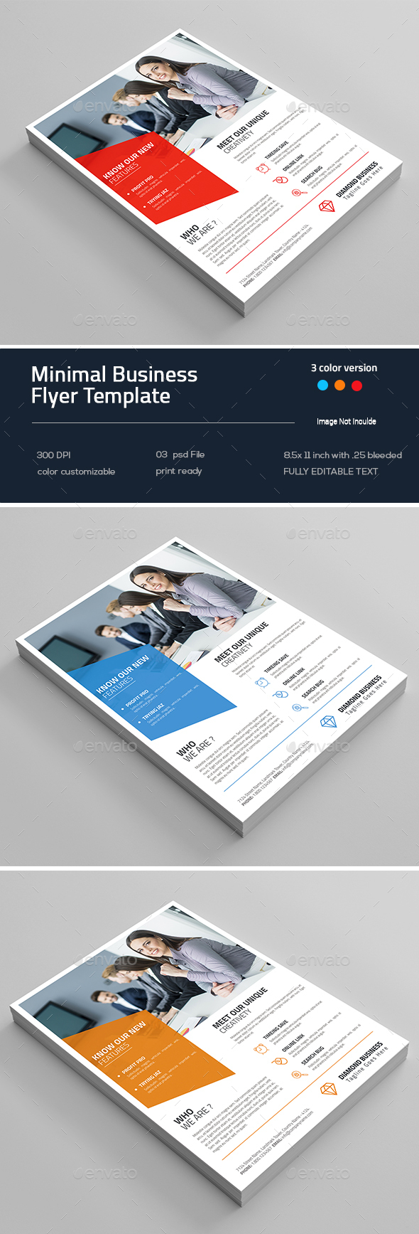 Minimal Business Flyer - Flyers Print Templates