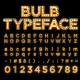 Bulb Typeface - VideoHive Item for Sale