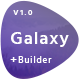 Galaxy - Responsive Email + Online Builder Nulled
