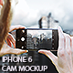 Phone camera photography mockup - GraphicRiver Item for Sale