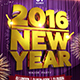 2016 NEW YEAR FLYER - GraphicRiver Item for Sale
