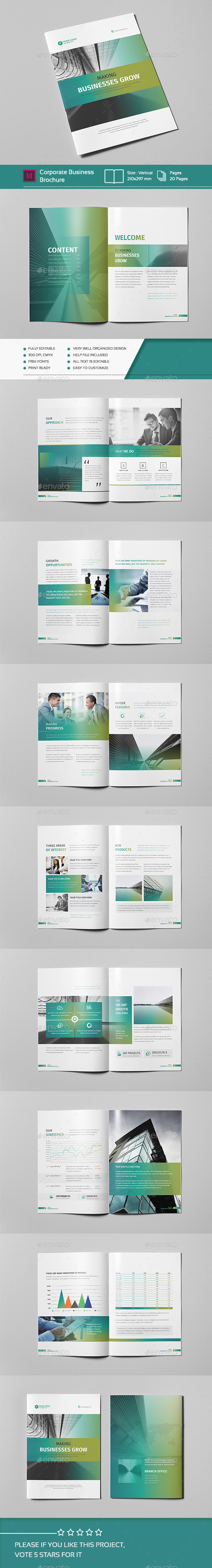 Corporate Business Brochure 20 Vol.02 - Corporate Brochures