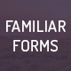 Familiar Forms - Creative Web Forms - GraphicRiver Item for Sale