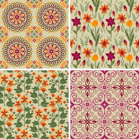 Floral Patterns - Flowers & Plants Nature