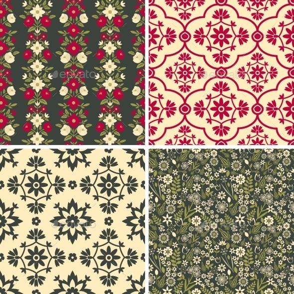 Floral Patterns - Flowers & Plants Nature