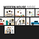 Modern House in Cut. - GraphicRiver Item for Sale
