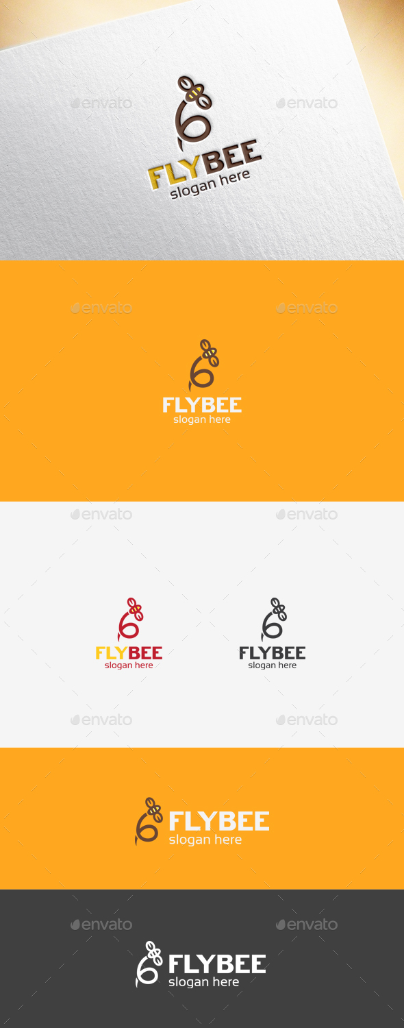 Flybee Logo Template - Animals Logo Templates