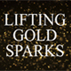 Lifting Gold Sparks - VideoHive Item for Sale