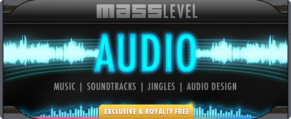 Masslevel audio music jingles royalty free