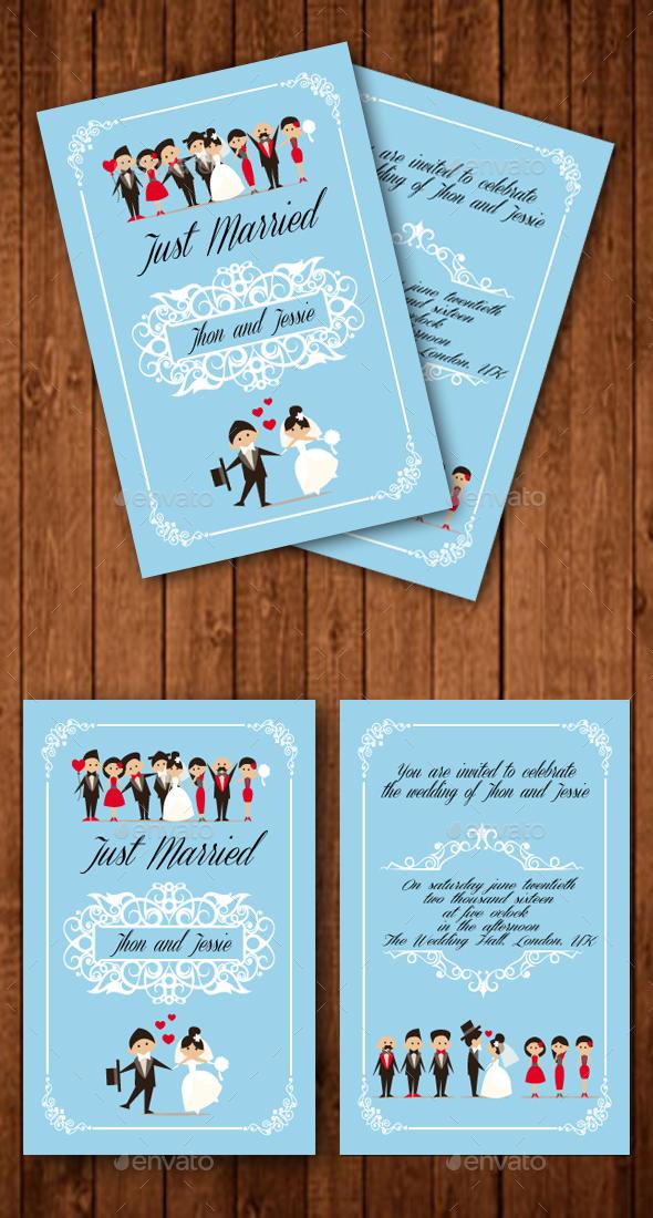Sweet Wedding Invitation - Weddings Cards & Invites