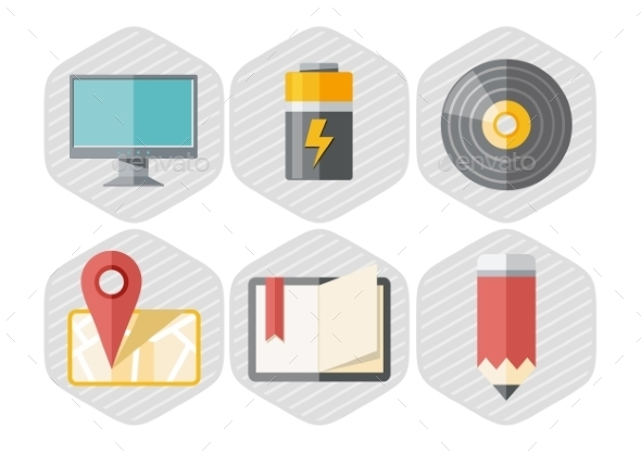 Set Of Office Icons - Concepts Business