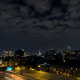Nighttime Clouds Over Old City Philadelphia - VideoHive Item for Sale