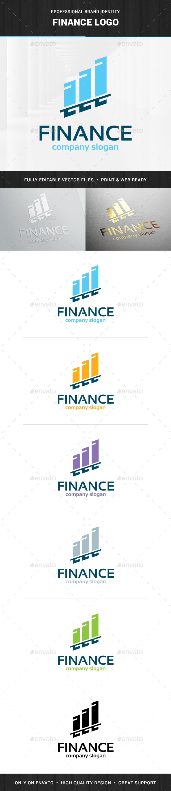 Finance Logo Template - Logo Templates