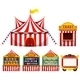 Circus Tent and Game Boothes - GraphicRiver Item for Sale
