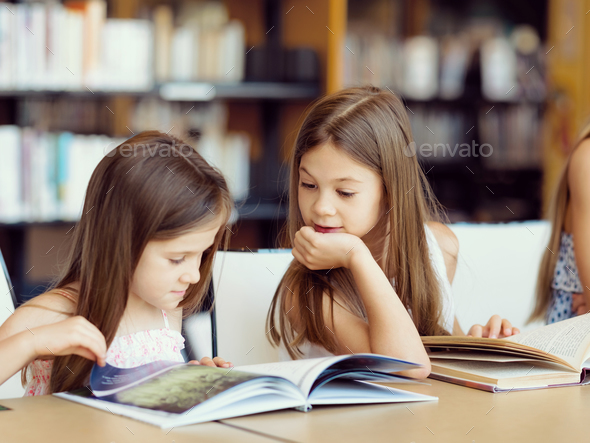 We love reading - Stock Photo - Images