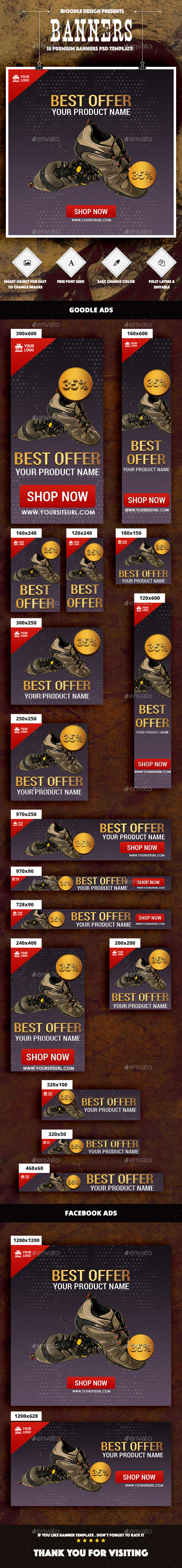 Product Banners Ad - Banners & Ads Web Elements