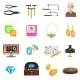 Jeweller Icons Set