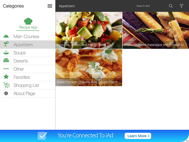 Ipad recipe app by dmbteam codecanyon ipad recipe app codecanyon item for sale screens0 forumfinder Choice Image