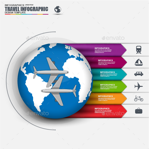 World Travel Business Infographic - Infographics